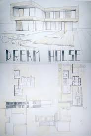 amazing how to draw a modern house modern house drawing
