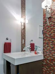 Designer Bathroom Wallpaper Penthouse Remodel In Downtown St Louis S U0026k Interiors Hgtv