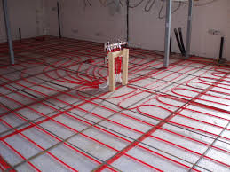 flooring heated tile floors for basement bathroom floor systems