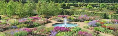 north yorkshire england scampston hall the walled garden at