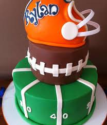 football cakes football birthday cake top football cakes cakecentral