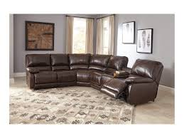 Sectional Sofas With Recliners And Cup Holders Signature Design By Ashley Hallettsville Power Reclining Sectional