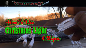 gutter clips for christmas lights how to use gutter clips for christmas lights youtube