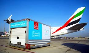 emirates bureau emirates skycargo เป ดศ นย ปฏ บ ต การส นค าเภส ชภ ณฑ มาตรฐาน ใน