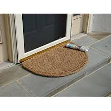 Outdoor Coir Doormats Amazon Com Kempf Natural Coco Coir Doormat 18 By 30 By 1 Inch