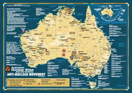 map of austarlia map of australia nuclear test uranium and dumps