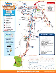 kentucky house map 2013 course map derby festival marathon