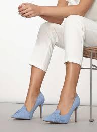 twisted dorothy blue u0027gotcha u0027 twisted bow court shoes dorothy perkins