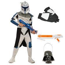 complete standard clone wars captain rex kids costume kids star
