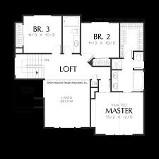 Tri Level Floor Plans Mascord House Plan 2163 The Newell