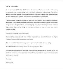 best ideas of college admissions counselor cover letter sample on