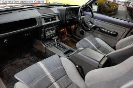 ford fairmont ghia xe esp gunmetal grey code m front seats ford