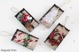 farmhouse tart tin ornaments raggedy bits