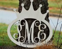 wooden crown etsy