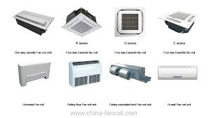 hydronic fan coils wall mount what is the difference between the fan coil unit and hide away unit