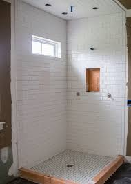 Built In Shower by Master Bathroom Hollywood Makeover U2014 The Stiers Aesthetic