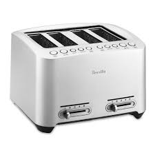 Sunbeam 4 Slice Toaster Review Breville Die Cast 4 Slice Smart Toaster Williams Sonoma