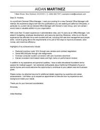 general resume cover letter exles best admin general manager cover letter exles livecareer