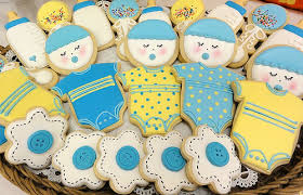 cookie arrangements baby boy shower cookie arrangement decorative cookies