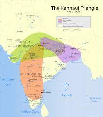 7 Kingdoms Map Gurjara Pratihara Wikipedia