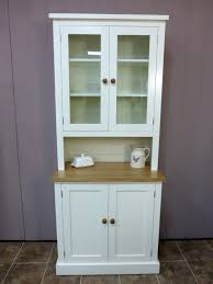 shaker style half glazed dresser bespoke kitchen and dining room