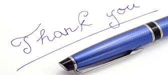 how to write thank you letters after your mba interview day