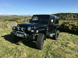 2001 jeep wrangler sahara black 4l manual 3 5