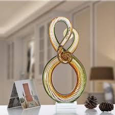 best and cheap multicolored tooarts surround glass sculpture home