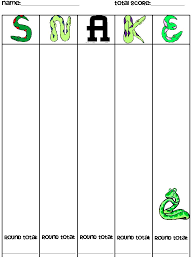 guided math snake a whole class dice game