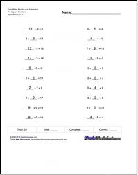 free printable math worksheets variables expressions kindergarten free printable math worksheets for pre algebra problems