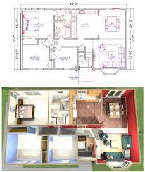 Split Floor Plan by 44 4 Bedroom 2 Living Room House Plans Bedroom One Story House 4
