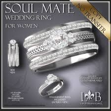 promise ring engagement ring and wedding ring set second marketplace wedding ring celtic soul mate womens