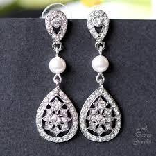 wedding earrings u2013 little desirez jewelry