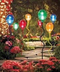 Solar Stake Garden Lights - oversized globe solar garden light solar gardens and outdoor