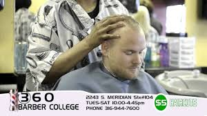 360 barber college wichita kansas youtube