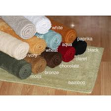 Cotton Reversible Bathroom Rug Cotton Reversible 30 X 50 Bath Rug Free Shipping Today
