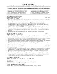 Resume Sample For Marketing by Technical Analyst Resume Sample Resume For Your Job Application