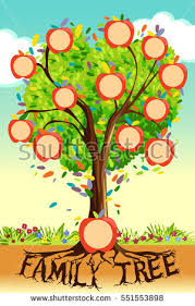 sumptuous design ideas picture of a family tree stock images