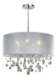 Glow Lighting Chandeliers Silhouette 6 Light Chandelier Features Clear Signature Series