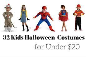 32 kids halloween costumes for under 20