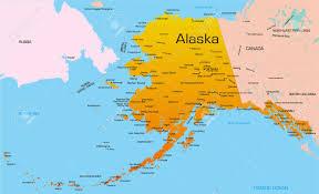 map of alaska cities map of alaska with cities c lejeune map