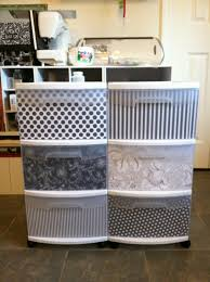amazing of plastic storage bins with drawers best 25 decorate