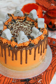 halloween cakes to make halloween drip cake jane u0027s patisserie