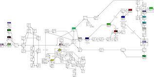 The Hobbit Map Wilderland
