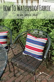 how to make fabric waterproof