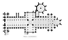 medieval wells cathedral interior interior floorplan