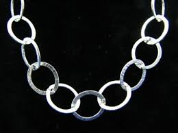 link necklace silver images Unique jewelry and supplies by universal age jpg
