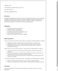 professional implementation consultant templates to showcase your