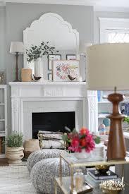Kitchen Mantel Decorating Ideas Decorating The Fireplace Mantle Modern Mantel Decor Ideas Wall