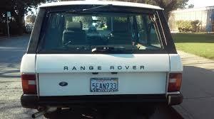 green range rover classic clean california land rover 1988 range rover classic 144k county